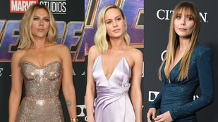 Elizabeth Olsen, Scarlett Johansson és Brie Larson is jól nézett ki a Bosszúállók-film világpremierjén