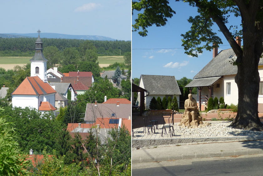 A Veszprém és Herend között fekvő Bánd község takaros utcáira a falu melletti Essegvárból páratlan kilátás nyílik. A központban Mádl Ferenc, a település szülöttjének emlékszobrát nézhetik meg az arra járók.