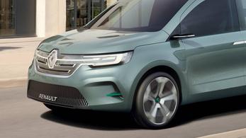 Ez a tanulmány itt lényegében a következő Renault Kangoo