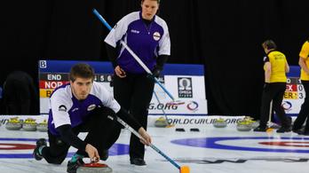 A magyar curlingbravúr után az ellenfél is csak a feladás mellett dönthetett