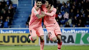 A Barca simán nyert, már szerdán bajnok lehet