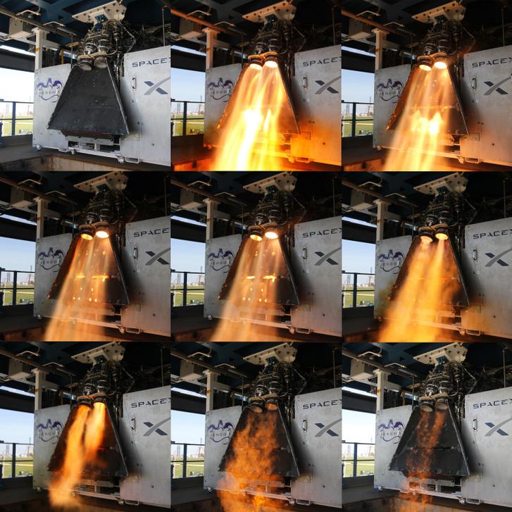 A SpaceX korábban rengetegszer tesztelte a Super Draco hajtóműveket