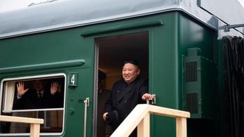Kim Dzsongun páncélvonata megérkezett Oroszországba