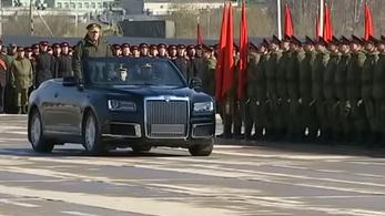 Lelepleződött a tisztelgős Putyin-limó