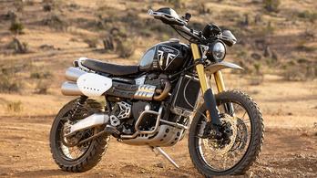 Sivatagi versenyre küldik az új Triumph Scramblert