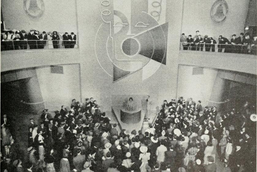 A Voder bemutatója 1939-ben.