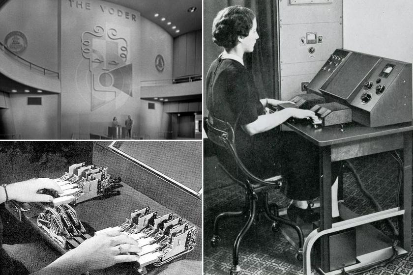 Hátborzongató, ahogy beszél: ilyen volt az első, emberi hangot utánzó gép