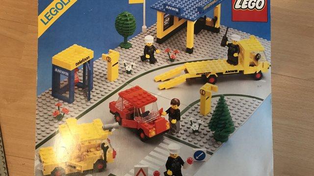 LEGO 1590 - Autómentés holland módra