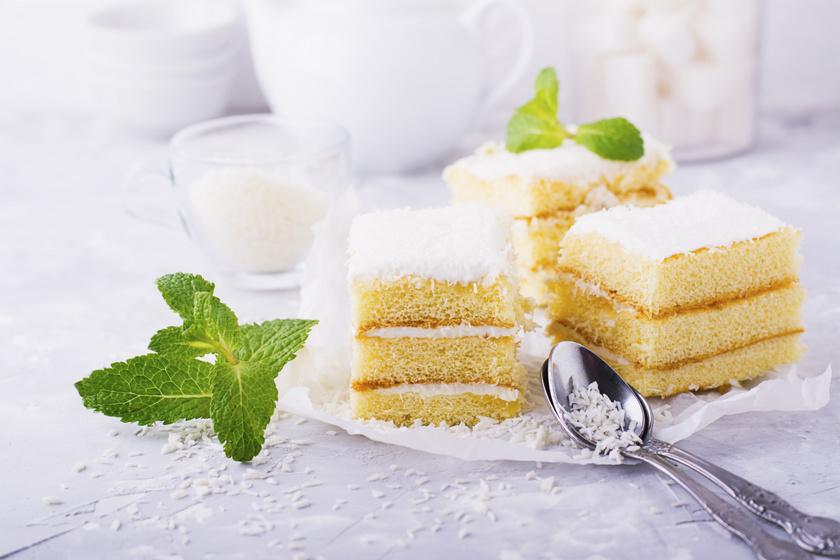 Pihe-puha, krémes, kókuszos süti: a nagyi is így csinálta