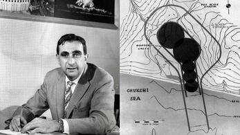 Teller Ede hidrogénbombával szerette volna átrajzolni Alaszka térképét