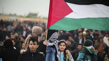 Annyi a palesztin államiságnak