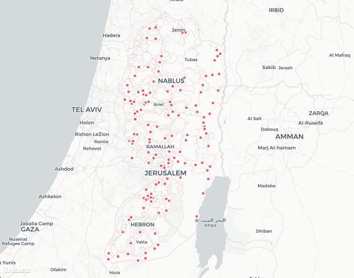 Zsidó települések Ciszjordániában