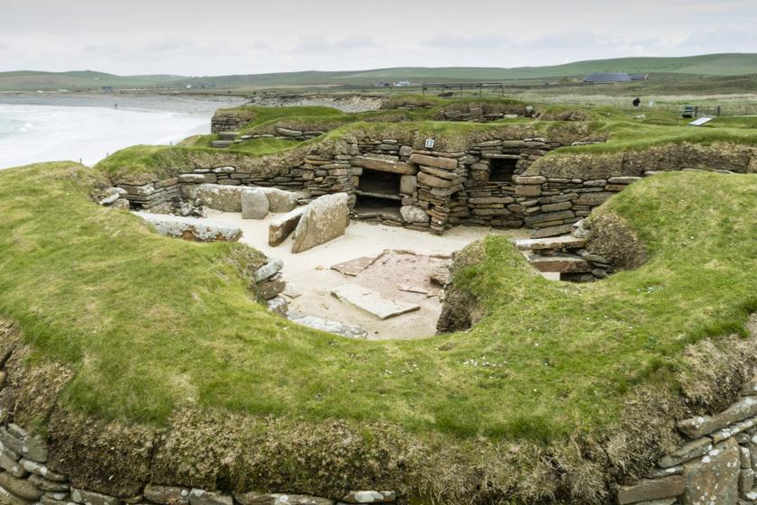 A skót Pompejinek is nevezik a kőkori falut: szinte érintetlen állapotban maradt fenn