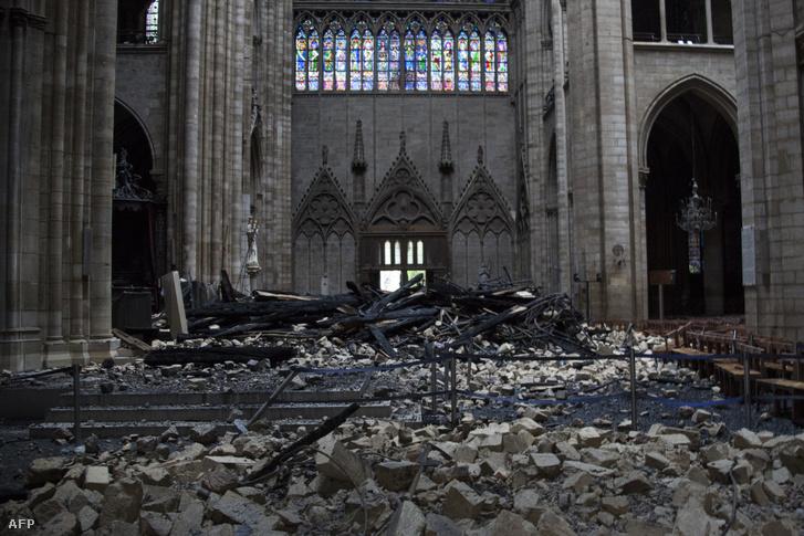 Lassan több pénz jön össze a Notre-Dame-ra, mint amennyibe a felújítás kerül