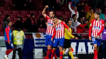 Az Atlético elnapolta a Barca bajnokavatását