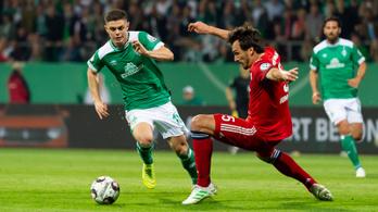 A Bayern őrült meccsen jutott be a Német Kupa döntőjébe