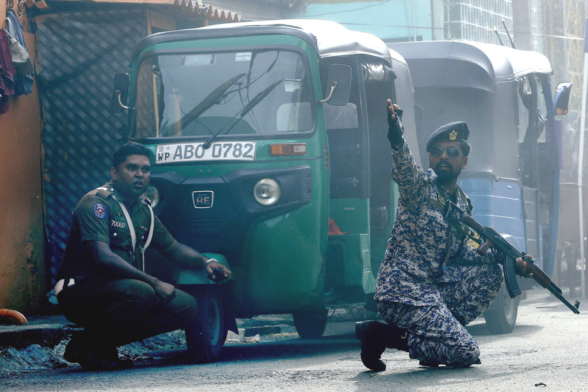 ef19174864 Újabb robbanás történt Srí Lankán ma reggel: megbénította a várost