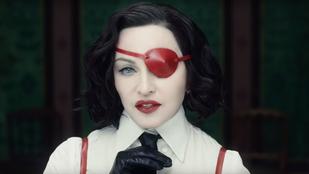 Nála 35 évvel fiatalabb férfival kavar Madonna az új klipjében