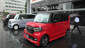 Japánban a miniautó-divat segíti a környezetvédelmet
