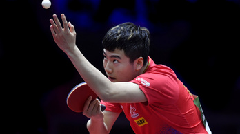 A világelső kínai is kiesett a budapesti asztalitenisz-vb-n