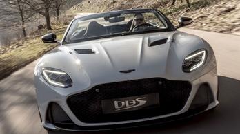 Nincs most fényűzőbb Aston Martin