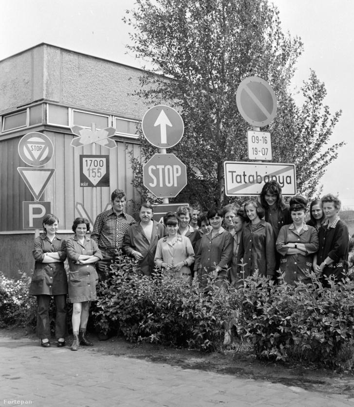 Táblagyári dolgozók 1976-ban