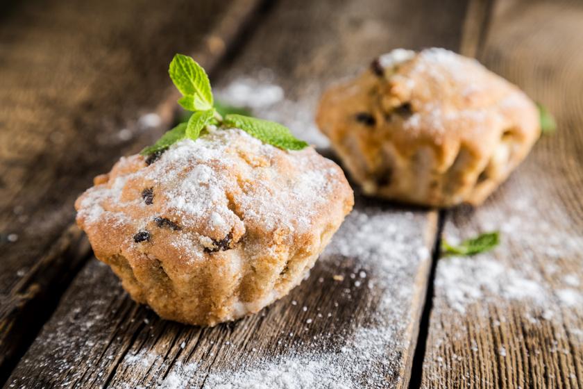 30 perces, vaníliás, túrós muffin: ha valami finom, de egyszerű sütire vágysz