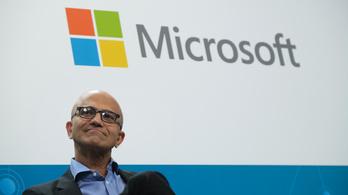 A Microsoft a harmadik a billió dolláros cégek sorában
