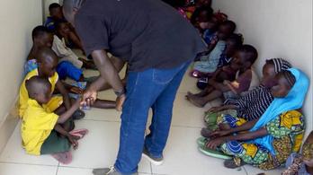 157 gyermeket mentett ki a rabszolgaságból az Interpol