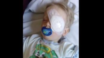 A SOTE árnyalta a kisfiú történetét, akinek bot sértette fel a szemét