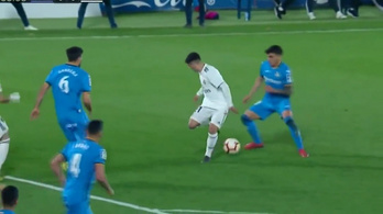 Zidane kincsre bukkanhatott csütörtökön