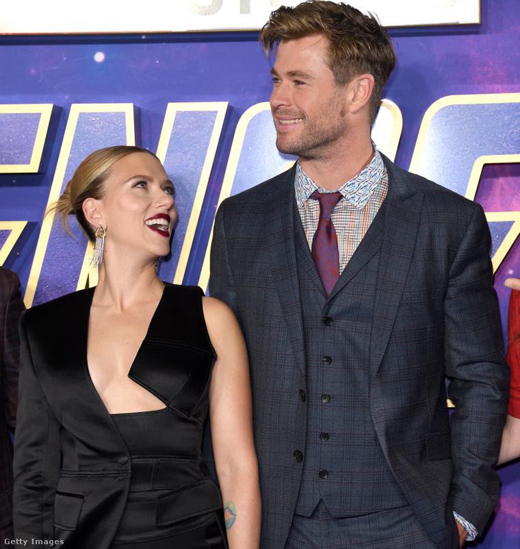 Ők azok, Scarlett Johansson és Chris Hemsworth!