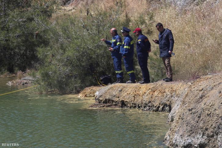 A Xiliatos melletti tó, ahol a holttestek előkerültek