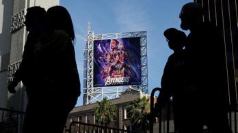 Rekordbevétellel indított Amerikában a Bosszúállók: Végjáték