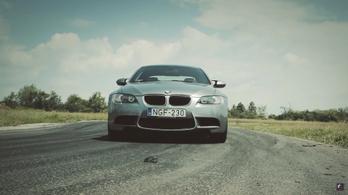 Az egyetlen V8-as BMW M3