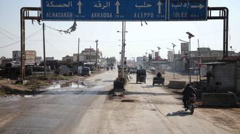 Tizenhét szír katona halt meg a dzsihadisták támadásában Aleppóban