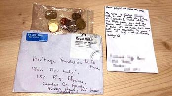 Három euróját ajánlotta fel egy 9 éves brit kislány a Notre-Dame felújítására