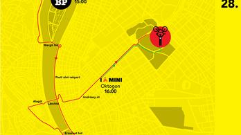 Komoly forgalomkorlátozások lesznek Budapesten vasárnap
