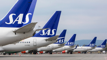 Járatainak 70 százalékát törölte a SAS a pilóták sztrájkja miatt