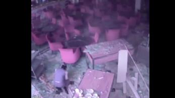 Videón a Srí Lanka-i szállodai robbantás