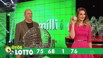 Itt vannak az ötös lottó nyerőszámai, a tét potom 100 millió