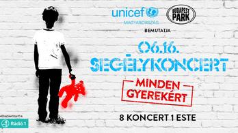 Szegény sorsú gyerekért zenél nyolc magyar zenekar a Budapest Parkban