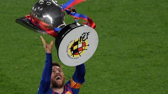 Messi góljával megvan a Barca 26. bajnoki címe