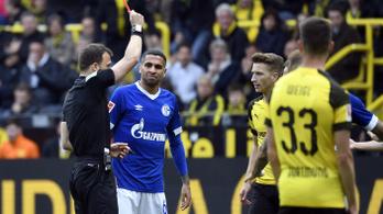 Hat percen belül két piros lap: kikapott az esélyes Dortmund
