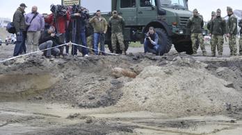 Hatástalanították a Bozsik Stadionnál talált 250 kilogrammos brit légibombát