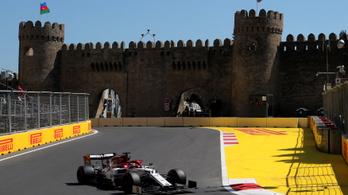 Kizárták Kimi Räikkönent a bakui időmérőről