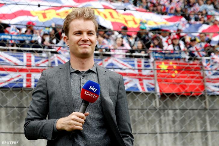 Nico Rosberg Sanghajban