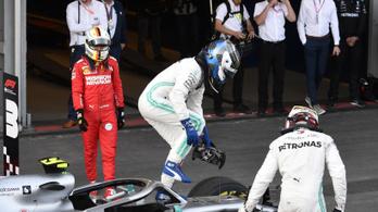 4/4: tökéletes Mercedes-csúcs, tétlen Ferrari Bakuban