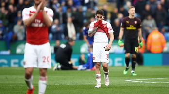 Hatalmas verést kapott az Arsenal