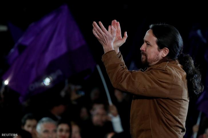 Pablo Iglesias, a Podemos jelöltje
